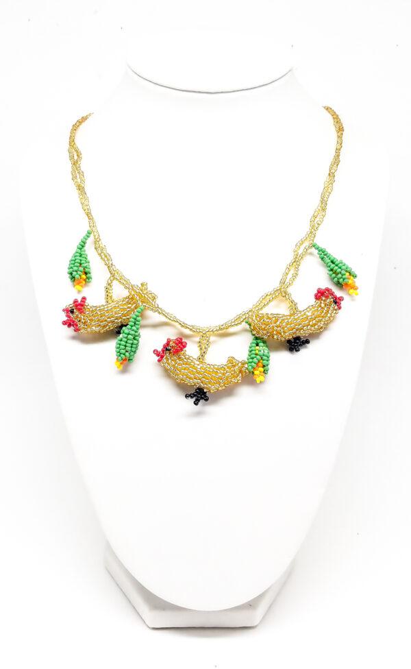 woza moya online craft store Necklaces Golden Chicken