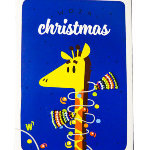 Cards : Woza Christmas Card - woza moya online craft store african beaded artwork
