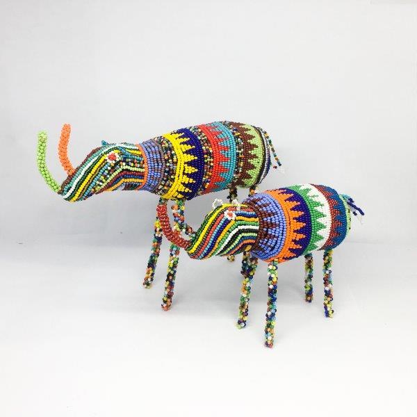 Beaded Animals : Rhino