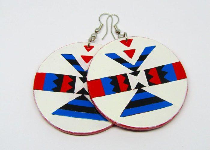 Earrings : Scelo's Earrings : Traditional Amashaza earrings