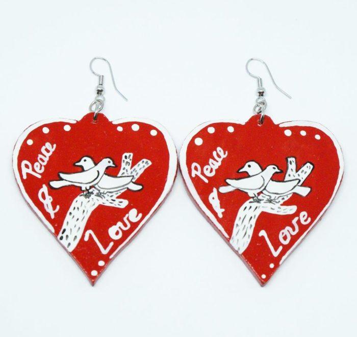 Earrings : Scelo's Earrings : Love Earrings