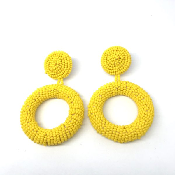Earrings : Donut Earrings