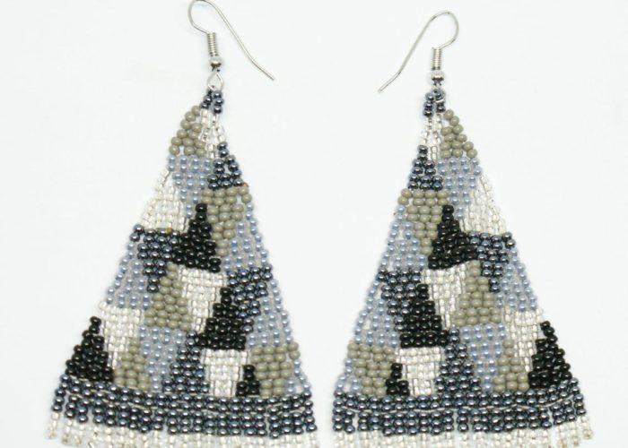 Earrings: Geometric Bling Bling