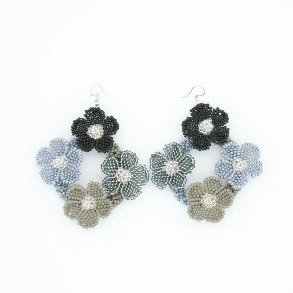 Earrings: Nobuhle's Flower Diamond