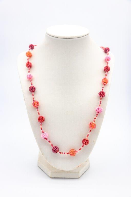 small bauble necklace