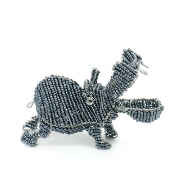 3D Wire and Bead Hippo