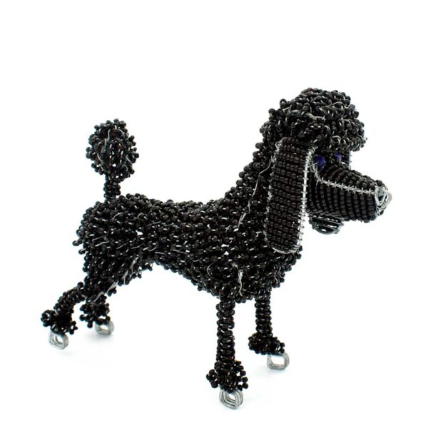Wire and Bead Poodle