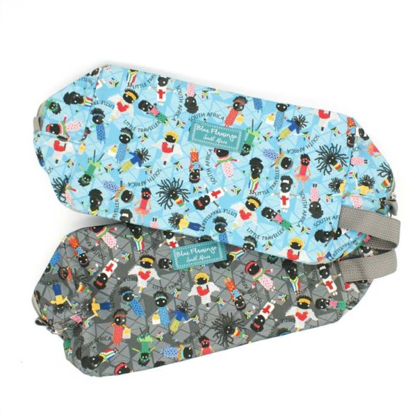 Little Traveller Boxed Vanity Bag in Blue or Grey