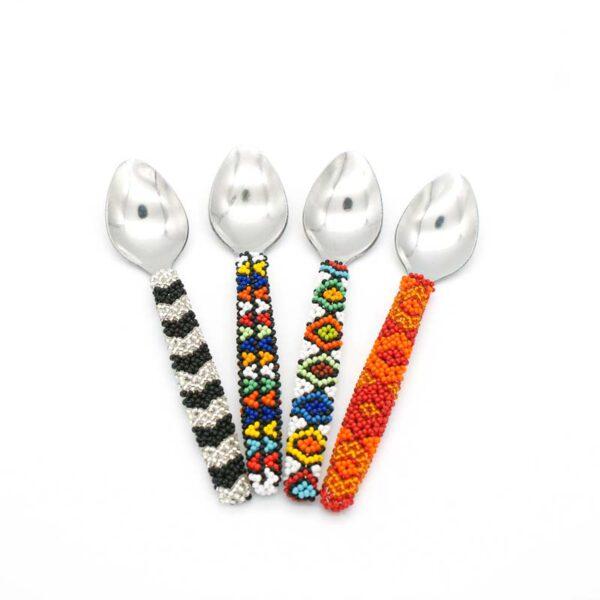 Beaded teaspoons