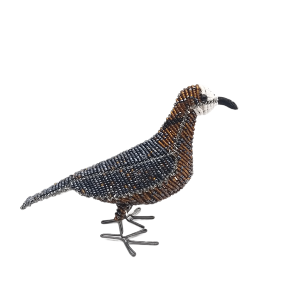 Peace Dove wire bird sculpture