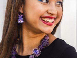 Jewellery Gift Box: Purple People Eater Box 2