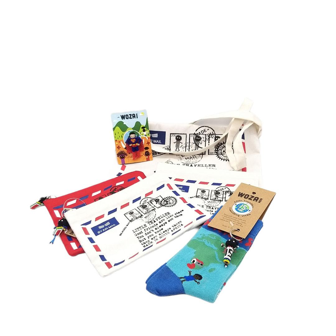 Sewing Little Traveller Bags - Woza Moya -Hillcrest-Aids-Centre-Trust-KZN