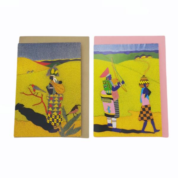 Greeting Cards by Sibusiso Duma